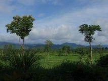 LäderremPha Phum berg Royaltyfria Foton