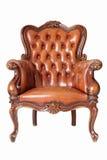 lädersofa Fotografering för Bildbyråer