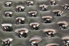 Läderstoppningbakgrund Arkivfoton