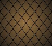 Läderstoppningmöblemang för prydnadpapper för bakgrund geometrisk gammal tappning Modell söm Fotografering för Bildbyråer