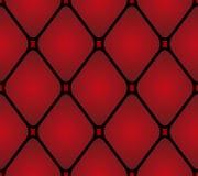 Läderstoppningmöblemang för prydnadpapper för bakgrund geometrisk gammal tappning Modell söm Arkivbild