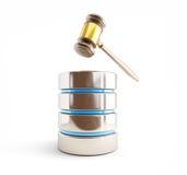 Lädt Netzpiraterie der Urheberrechtsverletzung auf vektor abbildung