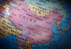 Lägen: Kina Royaltyfri Bild