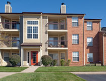 Lägenhet Complx Royaltyfri Bild
