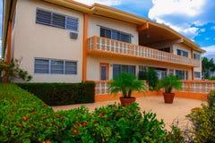 Lägenhet i Miami Beach Arkivbilder