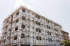 Lägenhet under konstruktion Arkivfoton