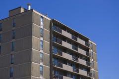 lägenhetarchitec som bygger bostadshögväxt fotografering för bildbyråer
