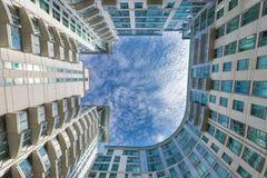 Lägenhetbyggnad i Vauxhall, London Fotografering för Bildbyråer
