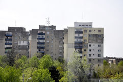 Lägenhetbyggnader Arkivbild