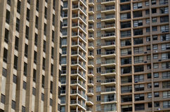 Lägenhetbyggnadskvarter Sydney New South Wales Australia Royaltyfri Bild