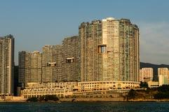 Lägenheter Aberdeen, Hong Kong Royaltyfri Bild
