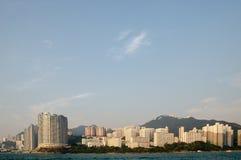 Lägenheter Aberdeen, Hong Kong Royaltyfri Foto