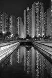 lägenheter Hong Kong Royaltyfria Foton