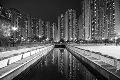 lägenheter Hong Kong royaltyfri foto