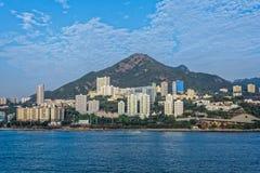 Lägenheter i Aberdeen Hong Kong Royaltyfri Bild