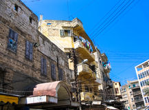 Lägenheter i Beirut Libanon Arkivfoto