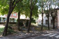 Lägenheter i den södra #2en Arkivfoto