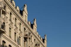 Lägenheter i finansiellt område Royaltyfri Foto