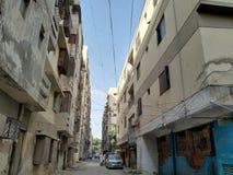 Lägenheter i Hyderabad arkivbild