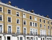 Lägenheter i Knightsbridge och Chelsea Fotografering för Bildbyråer