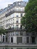lägenheter paris Arkivfoto