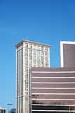 lägenheter som bygger arbete för ställe för affärskontor Royaltyfri Fotografi