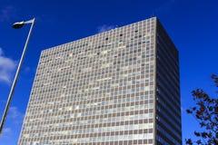 lägenheter som bygger arbete för ställe för affärskontor Royaltyfri Foto