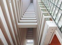 lägenheter som bygger arbete för ställe för affärskontor Royaltyfri Bild