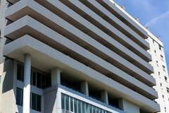lägenheter som bygger arbete för ställe för affärskontor Arkivbilder