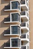 lägenhetfönster Royaltyfria Foton