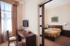 lägenhethotellinterior Royaltyfri Bild