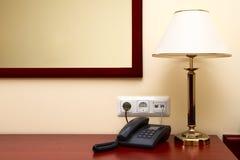 lägenhethotellinterior Arkivfoton