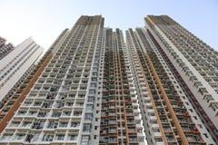 lägenhethus i Aberdeen Hong Kong Royaltyfria Bilder