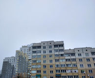 Lägenhethus i deprimerat Royaltyfri Fotografi