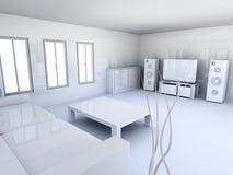 Lägenhetinre Arkivbilder