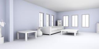 Lägenhetinre Royaltyfria Foton