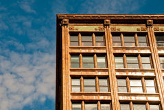 lägenhetsky Fotografering för Bildbyråer