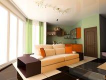 lägenhetstudio Royaltyfria Bilder