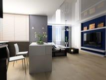 lägenhetstudio royaltyfria foton