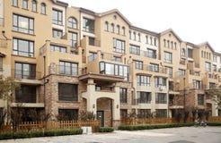 lägenhettownhouse Royaltyfria Foton