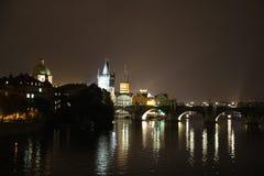 LägePrague Tjeckien Europa Arkivfoton
