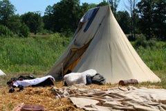 läger Arkivbilder