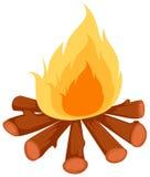lägerbrand