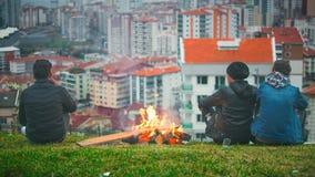 Lägerbrand royaltyfri foto