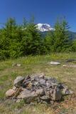 Lägerbrandgrop i Washington royaltyfri fotografi