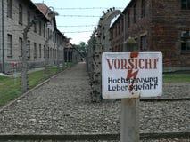 lägerkoncentration Royaltyfri Fotografi