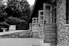 lägerkoncentrationsdachau royaltyfria bilder