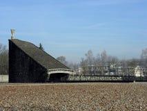 lägerkoncentrationsdachau Arkivfoto