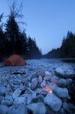 lägermorgon Arkivbilder