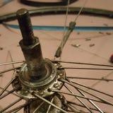 Lägg in nya ledningar av hjulet Royaltyfria Foton